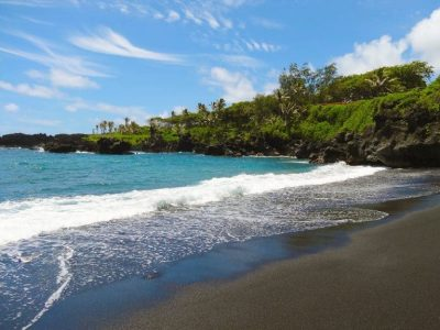 Black Sand Beaches in the World