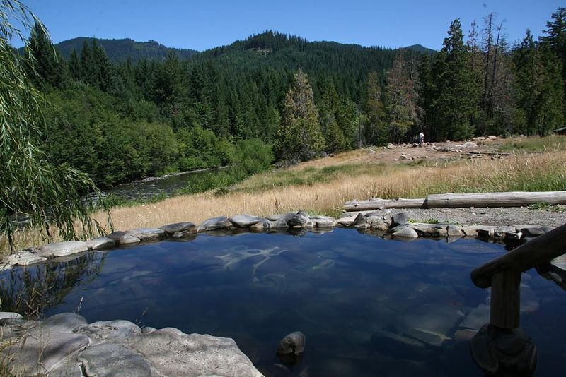Breitenbush Hot Springs in Oregon