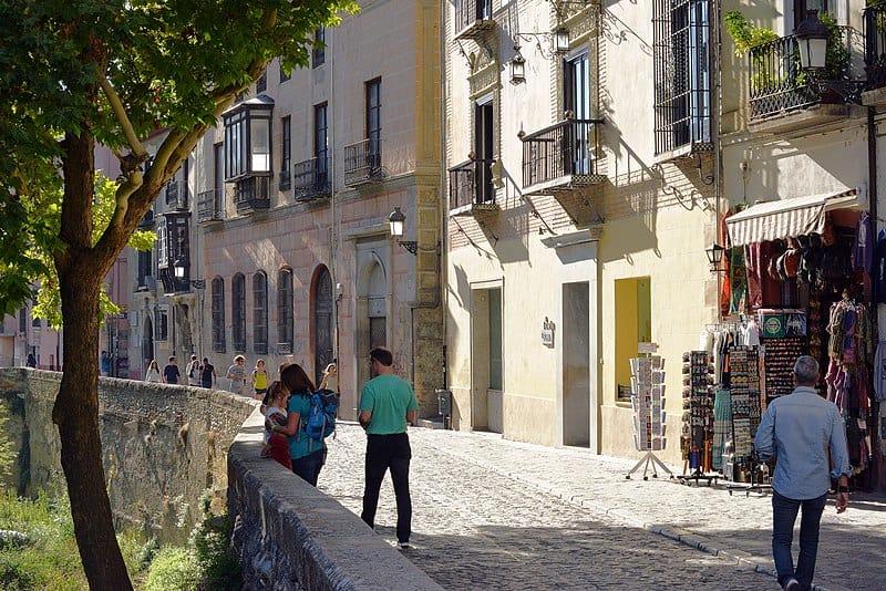 Carrera Del Darro Street - Granada, Spain