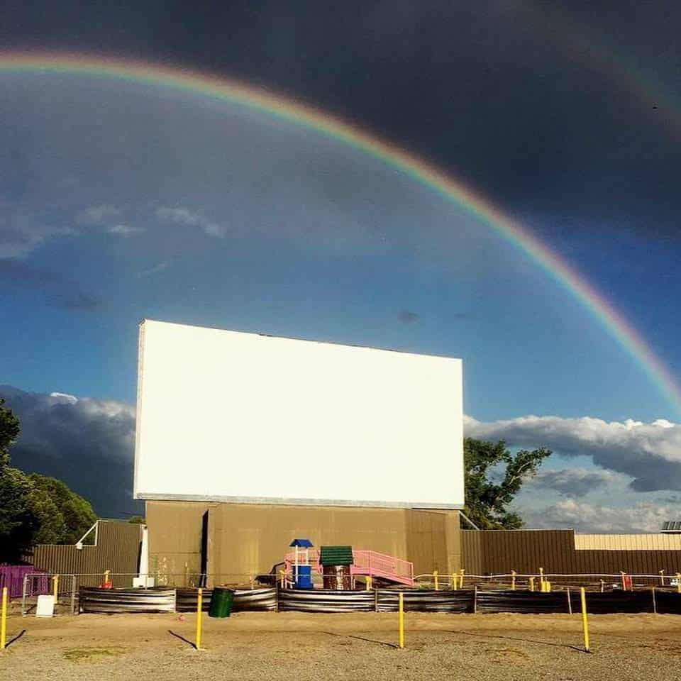 Chief Drive-in Movie Theater in the USA