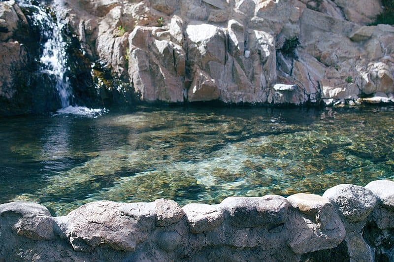 Deep Creek Hot Springs in California