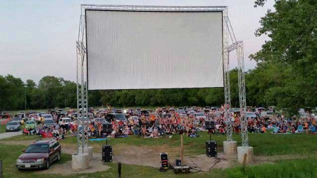 FalconWood Drive-in Movie Theater in the USA