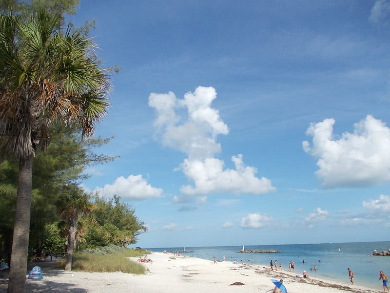 Fort Zachary Taylor State Park Beach in Key West