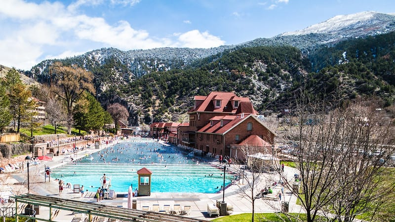 Glenwood Springs in Colorado