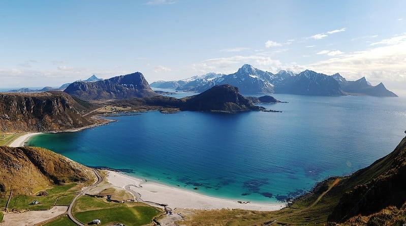 Haukland Beach - Traveling To Lofoten Islands, Norway