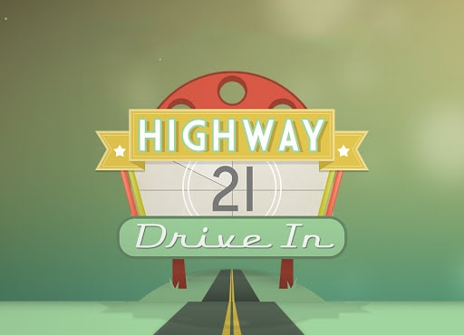 Highway 21 Drive-in Movie Theater in the USA