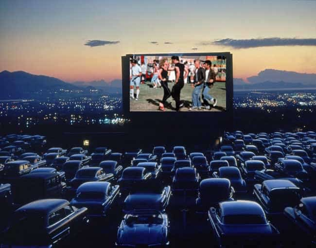 Iuka Drive-in Movie Theater in the USA