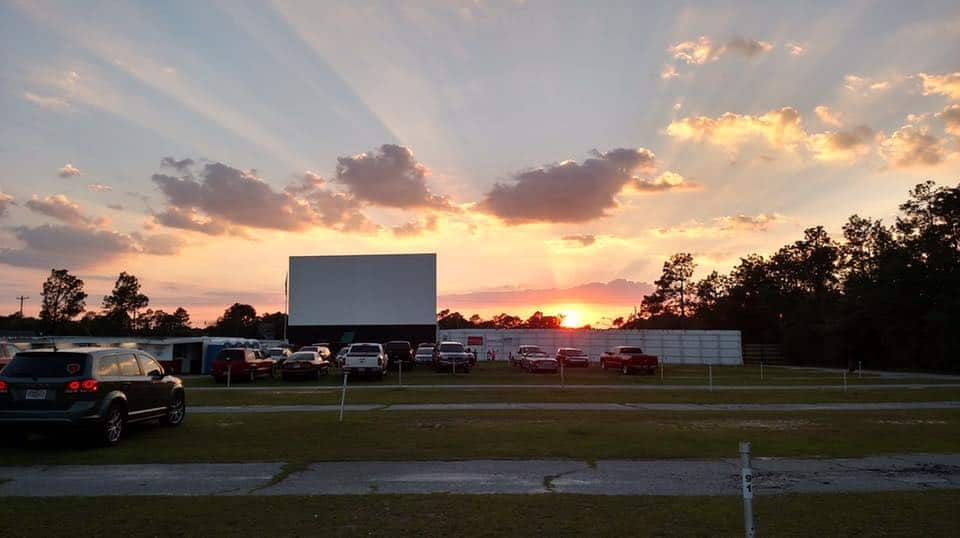 Jesup Drive-in Movie Theater in the USA