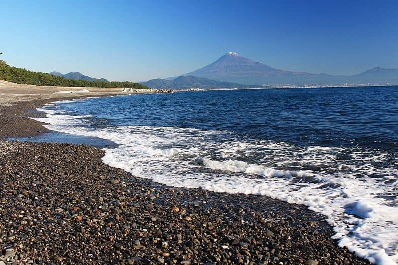 Miho no Matsubara - Black Sand Beach