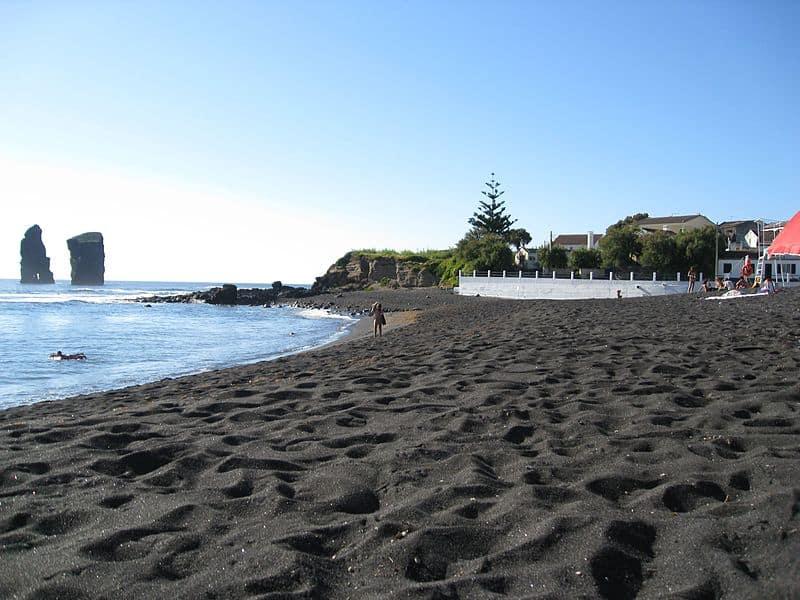 Mosteiros Black Sand Beach