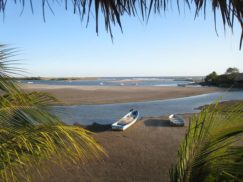 Playa las Penitas - Black Sand Beach