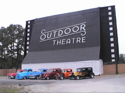 Raleigh Road Outdoor Drive-in Movie Theater in the USA