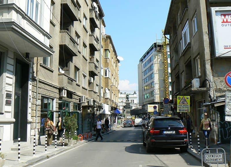 Shishman Street- Guide for Sofia, Bulgaria