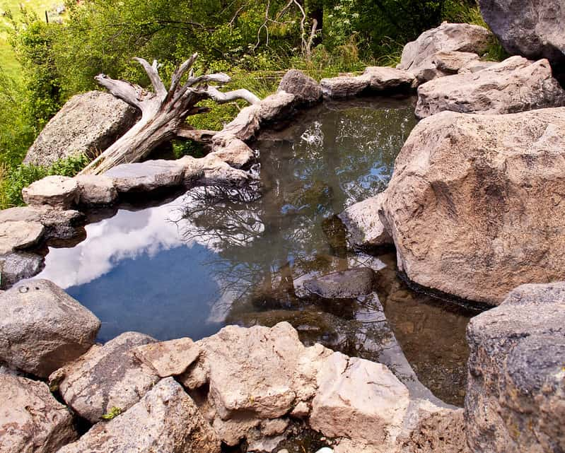 Spence Hot Springs in New Mexico