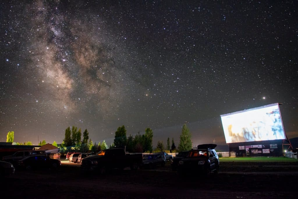 Spud Drive-in Movie Theater in the USA