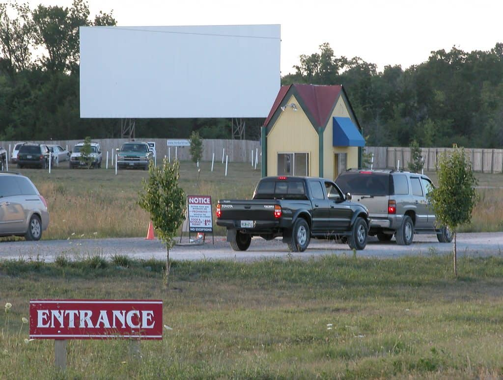 Stardust Drive-in Movie Theater in the USA