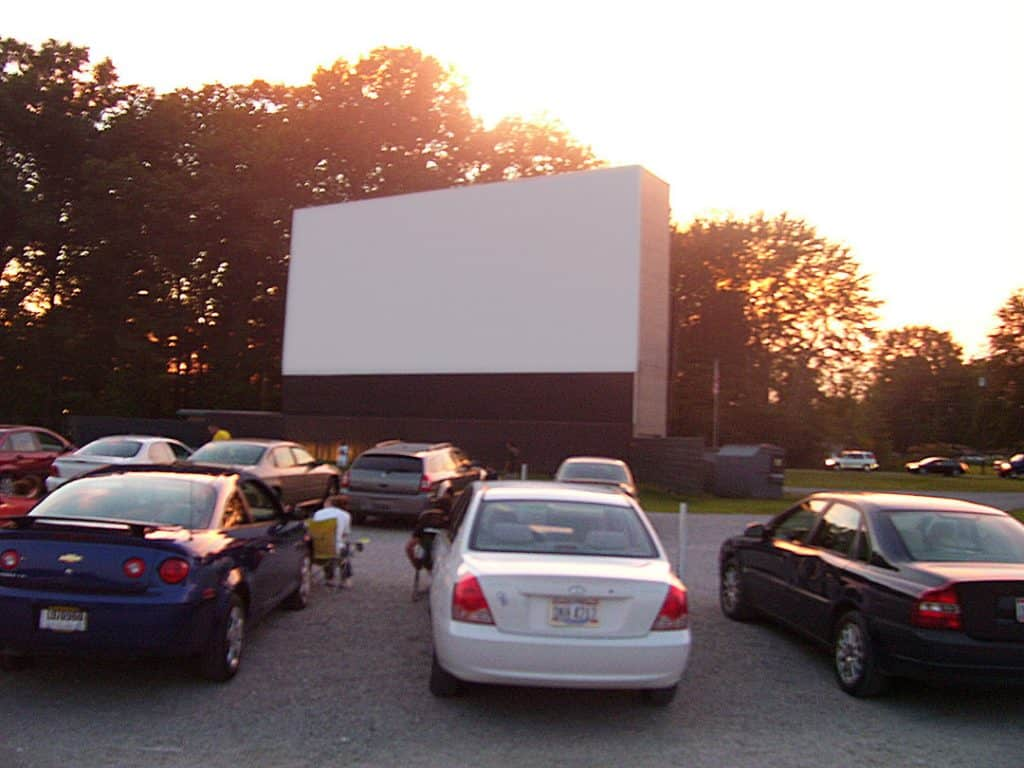 Starlite Drive-in Movie Theater in the USA