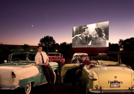 The Star Drive-in Movie Theater in the USA