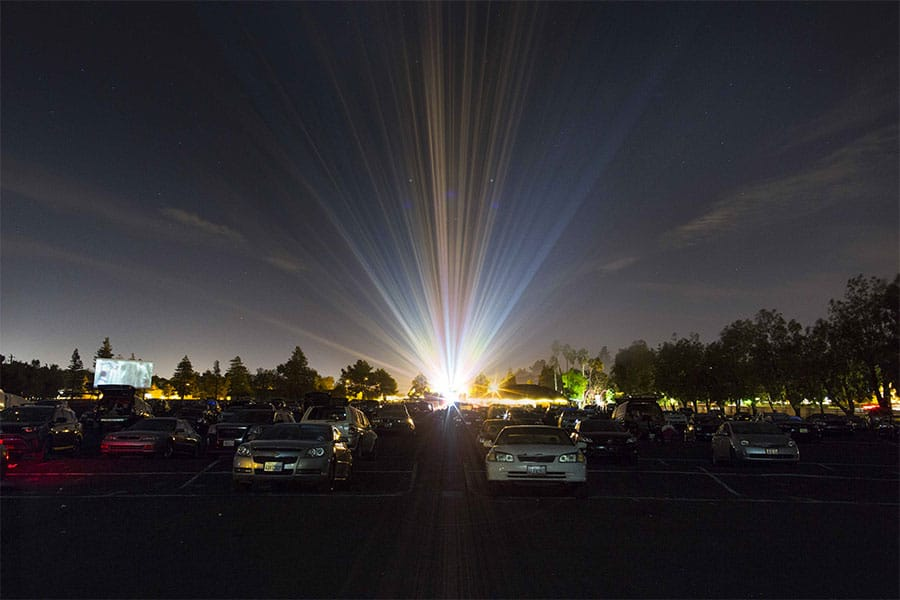 West Wind Drive-in Movie Theater in the USA