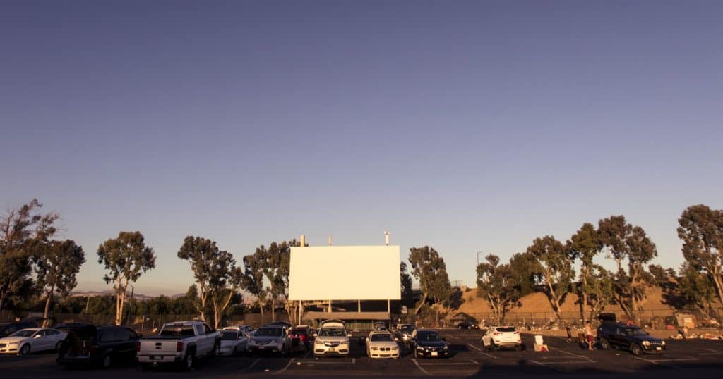Westwind Las Vegas Drive-in Movie Theater in the USA