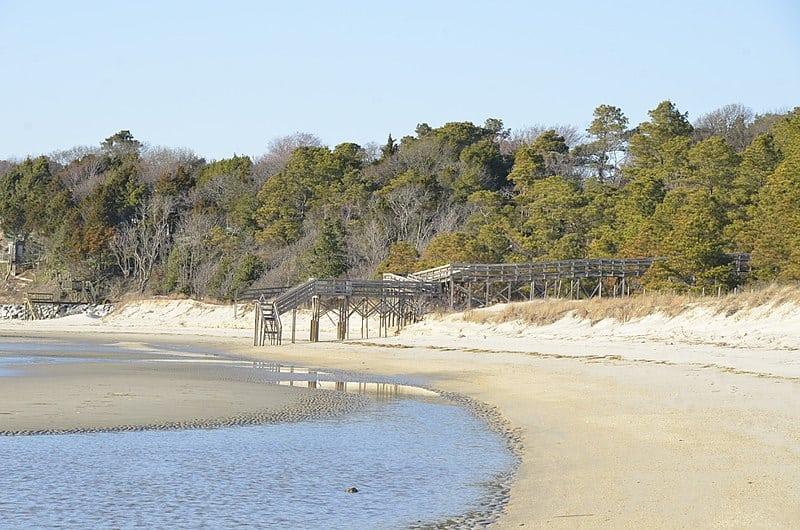 Kiptopeke State Park Beach in Virginia
