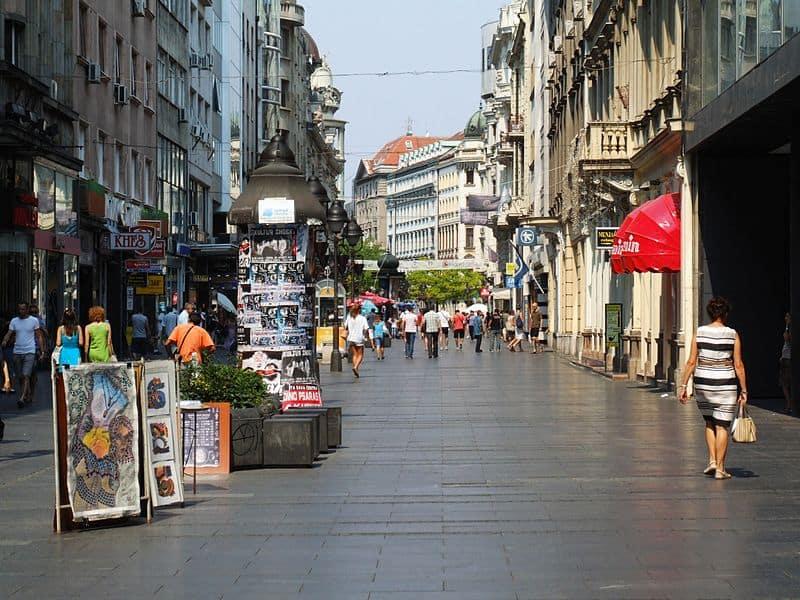 Knez Mihailova Street - Visiting Belgrade, Serbia