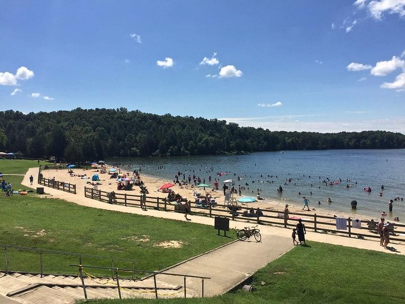 Lake Anna State Park Beach in Virginia