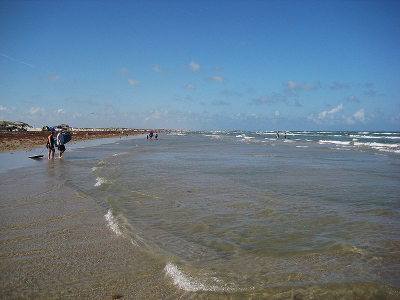 Mustang Island Beach- Best Beaches in Texas