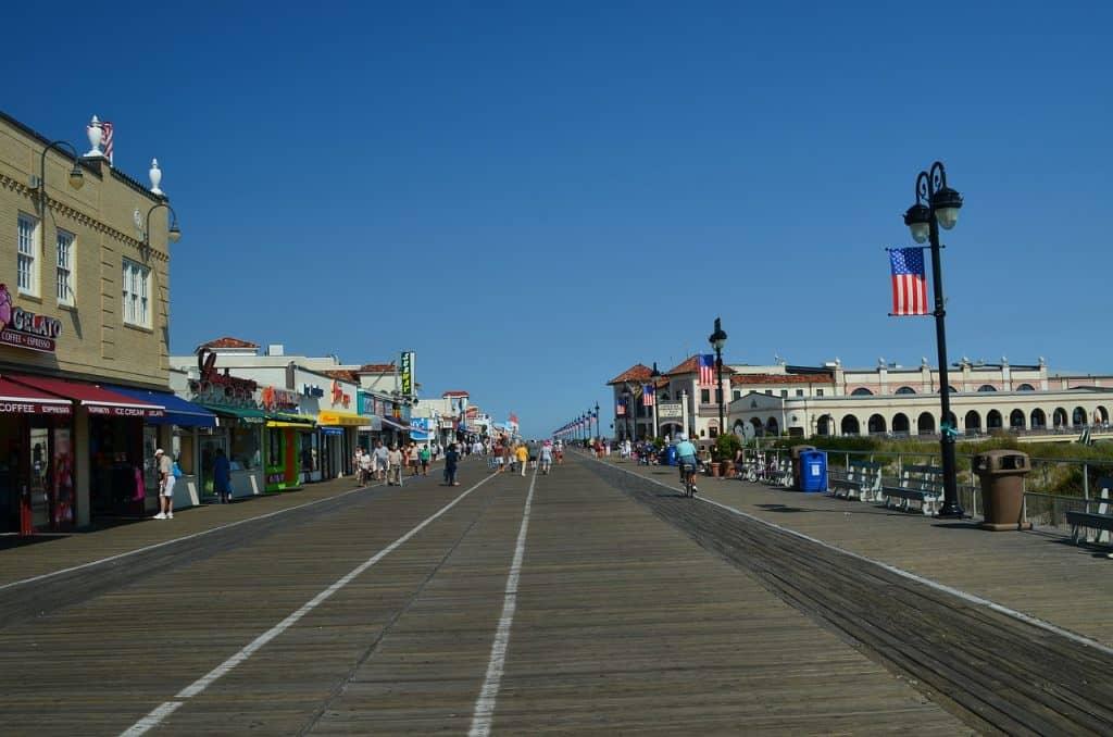 Ocean City Beach, New Jersey