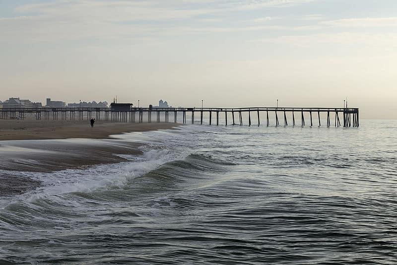 Ocean City Beach in Maryland
