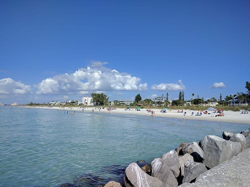 Pass-a-Grille Beach in St. Petersburg