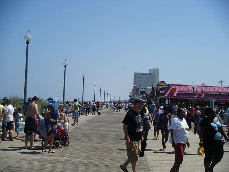 Rehoboth Beach in Delaware