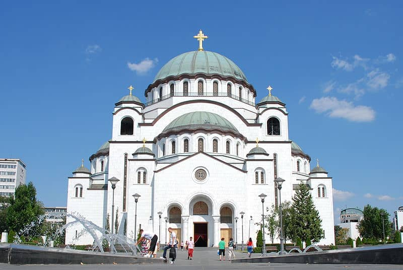 Saint Sava Plateau- Visiting Belgrade, Serbia