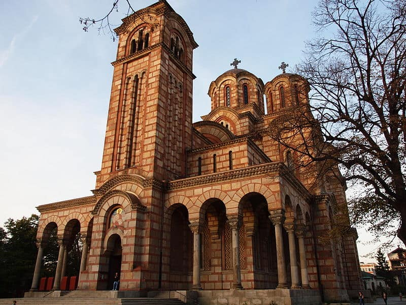 St Mark's Church - Visiting Belgrade, Serbia