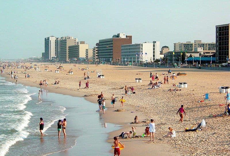Virginia Beach in Virginia