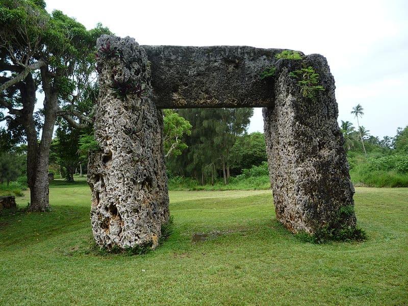 Ha'amonga'a Maui Trilithon - Visiting Tonga