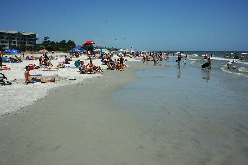 Hilton Head Beach - Best South Carolina Beaches