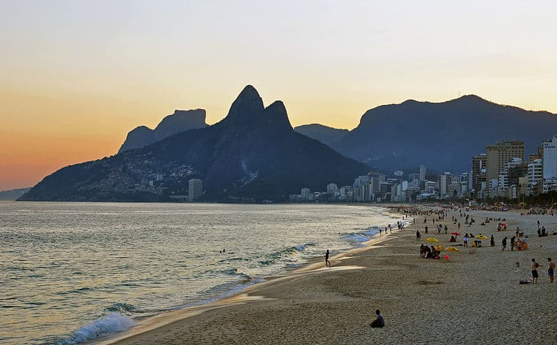Ipanema Beach - Visiting Rio De Janeiro, Brazil