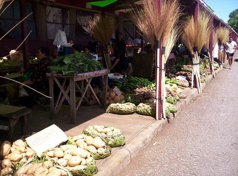 Talamahu Market - Visiting Tonga