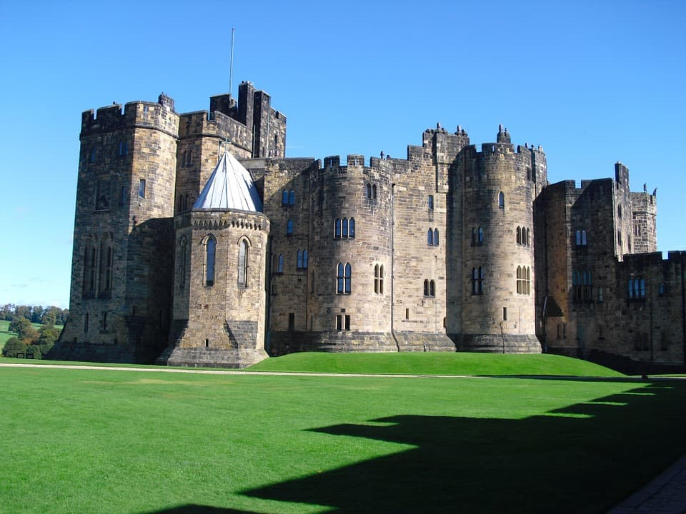 Alnwick Castle - Best Castles to Visit in England