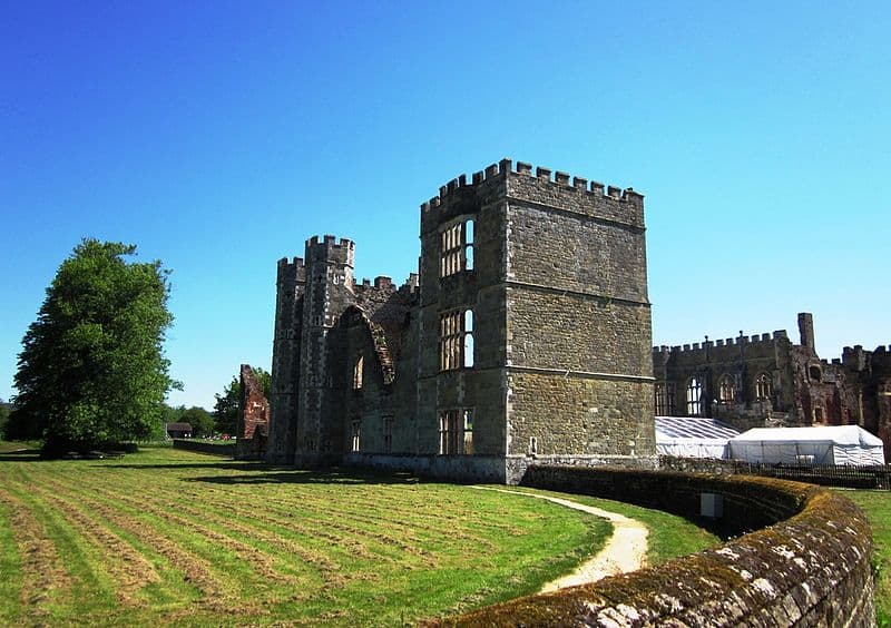 Cowdray Castle - Best Castles to Visit in England