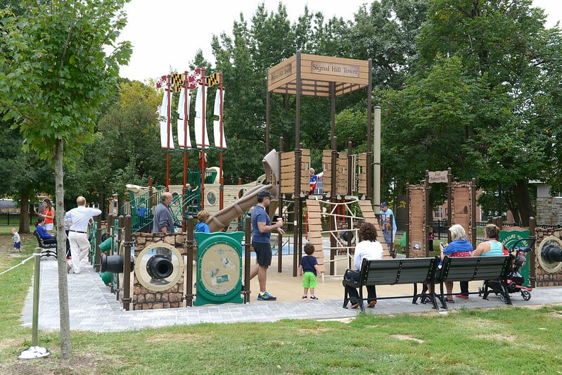 Federal Hill Park - Free Things to Do in Baltimore Maryland