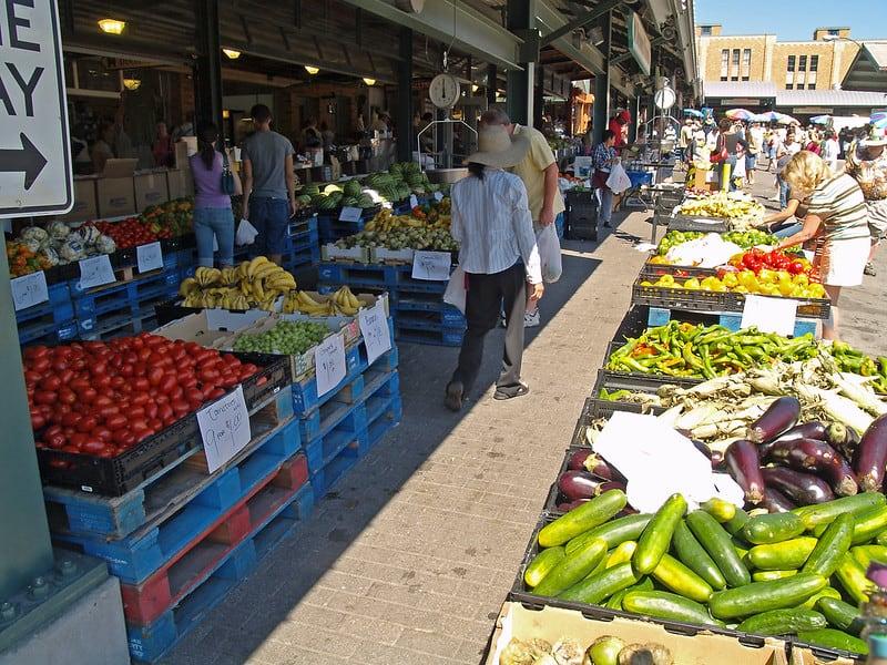 Food at the City Market