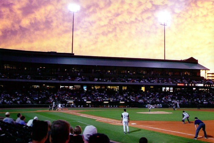 Game at Louisville Slugger Field