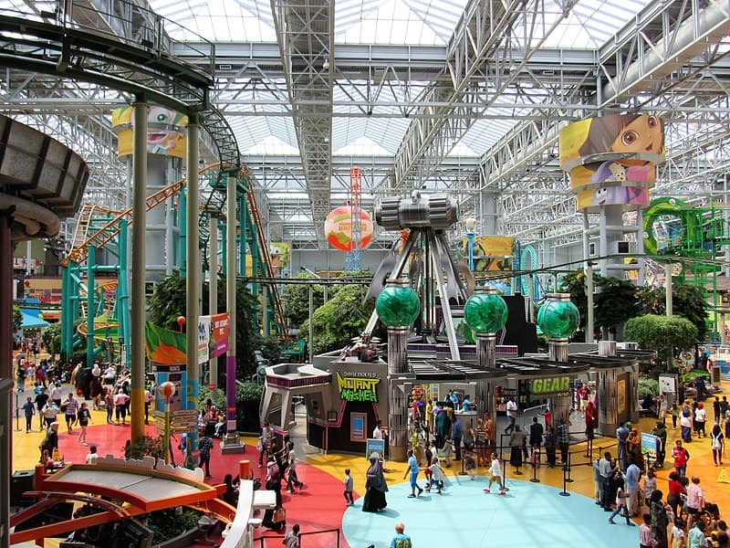 Mall of America- Free Things to Do in Minneapolis, Minnesota