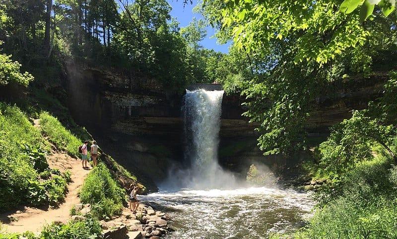 Minnehaha Falls- Free Things to Do in Minneapolis, Minnesota