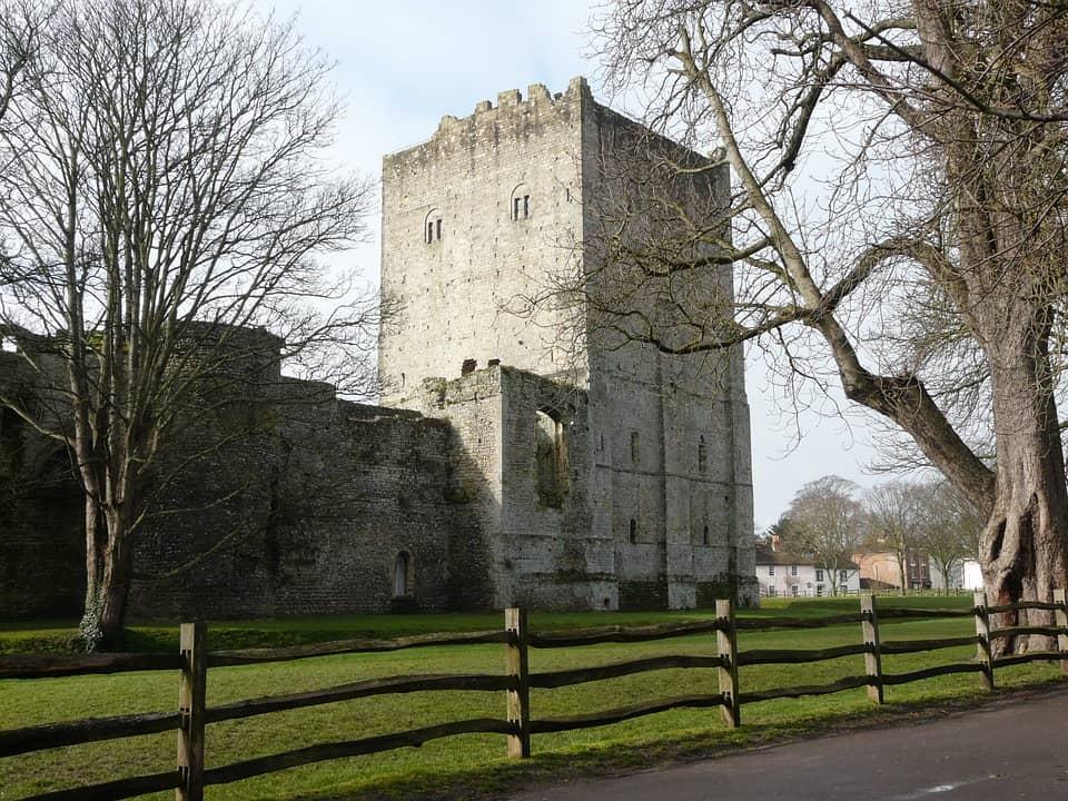 Portchester Castle - Best Castles to Visit in England