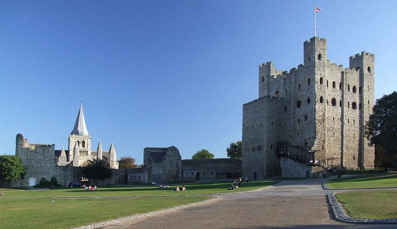 Rochester Castle - Best Castles to Visit in England