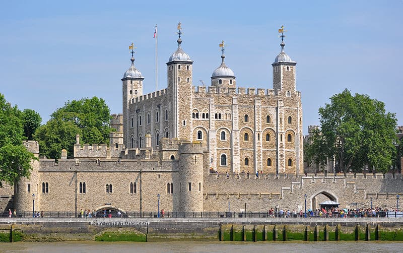 Tower of London - Best Castles to Visit in England