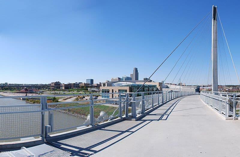 Bob Kerrey Pedestrian Bridge - Omaha, Nebraska